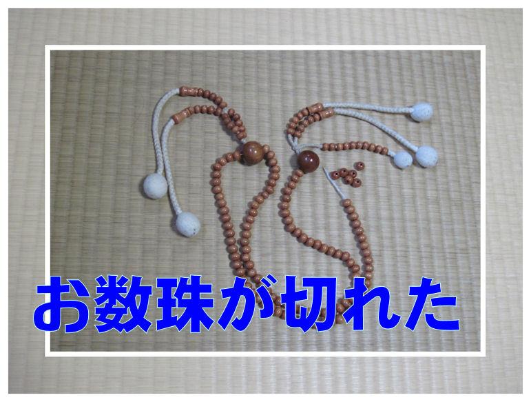 切れ た が 数珠